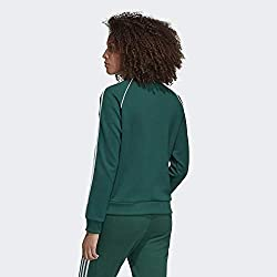 Adidas SST TT Chaqueta Para Mujer Color Verde Talla 40 Impermeable Y Transpirable
