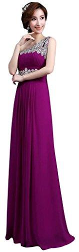 Drasawee - Robe - Asymétrique - Femme Violet - Violett - Violett