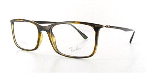 eyeglasses-ray-ban-7031-brun-a-angle-droit