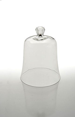 Sweet Home Cloche en verre Provence cod.5021642 cm 25h diam.20 by Varotto & Co.