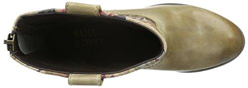 Bullboxer 742m75765a, Bottes Classiques femme Multicolore - Mehrfarbig (P073)
