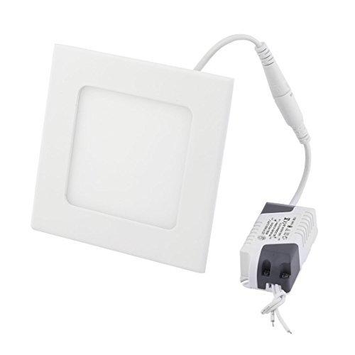 DealMux intensité variable blanc chaud 6 W Place Salle de bain LED a mis le plafond du panneau bas lumière AC85 - 265 V