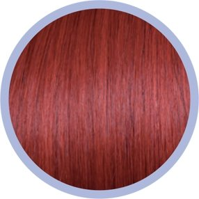 Euro So.Cap. Crazy Colour Extensions Rot 10x50-55cm 66