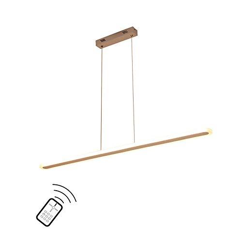 Moderne Lampe suspendues LED Bureau Chandelier Acrylique Rectangulaire Suspension luminaire Éclairage intérieur Table à Manger conférence Plafonnier Pendant Light [Classe énergétique A+]