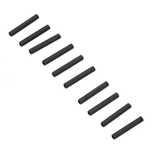Gaodaweian 100 Teile/los Angelschnur Rohr Draht Clip Rohr Angeln Draht Hülse Kupfer Barrel Crimp Ärmel Angelgerät Zubehör 1,0mm / 1,2mm / 1,4mm (Size : #12) -