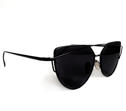Modern Monroe Damen Sonnenbrille Gold Gold, Gold
