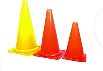 Pepup Sports Training Marker Cones (9-inches) - Set of 6