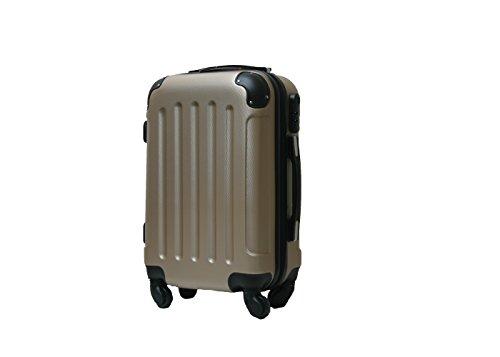 Maleta-cabina-50-cm-4-ruedas-trolley-cascara-dura-adecuadas-para-vuelos-de-bajo-coste