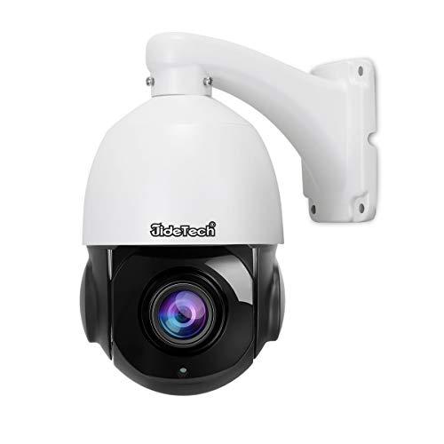 Hochgeschwindigkeits PTZ POE IP Kamera - 5.0 Megapixel Dome Kamera mit 20X Zoom, Audio Eingang/Ausgang und SD Card Slot für die Sicherheitsüberwachung Ptz-kamera