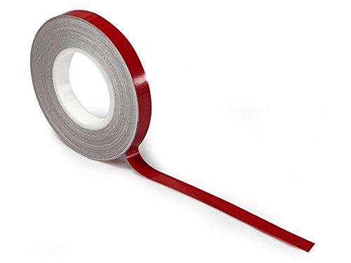 UNIK - Cinta adhesiva para llantas con aplicador (Rojo)