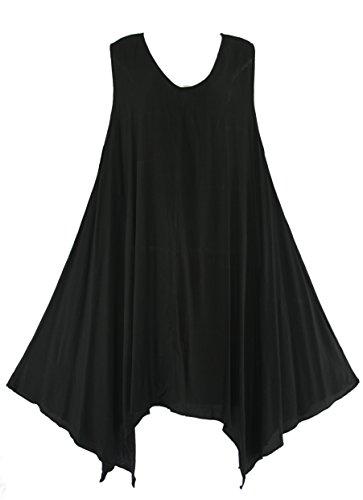 Beautybatik - Chemisier - Femme Noir - Noir