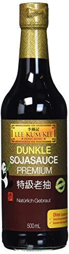 Lee Kum Kee Sojasauce dunkel (aus China, natürlich gebraut, ohne Geschmacksverstärker, würzig) 1 x 500 ml