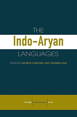 The Indo-Aryan Languages (Routledge Language Family Series) (English Edition)
