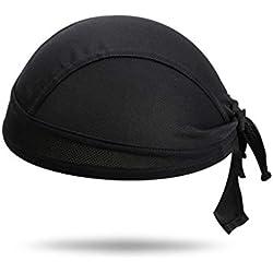 Chapeau de soudure en cuir de vachette avec tour de cou et épaules Drapé de protection pour soudeur Chapeau de protection Foulard Foulard Ignifuge, noir