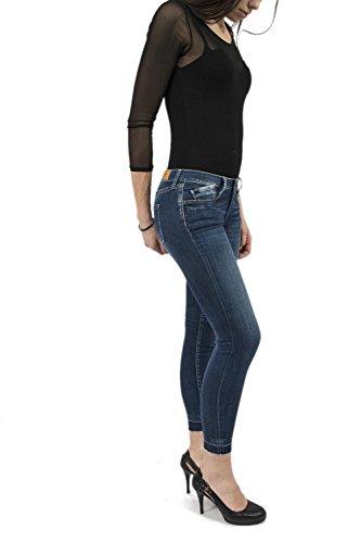 Le Temps des Cerises Damen Skinny Jeans Blau (Blue)