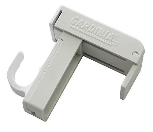 Gardinia Klemmträger, Kunststoff, weiß, 0.1, 2