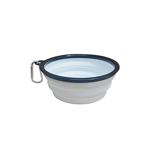 liscn Pet Slow Food Bowl Anhalten Anti-Schädel-Hundenapf Outdoor Portable Klappnapf Hund Katze Wasser Und Getreide Dual-Use-Topf, Bowl Food Slow Feeder Anti-Choke Wasser Schüssel Für Katzen Hunde (Hund, Slow Feeder Metall)