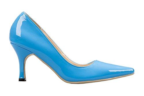 TDA , Sandales Compensées femme Bleu