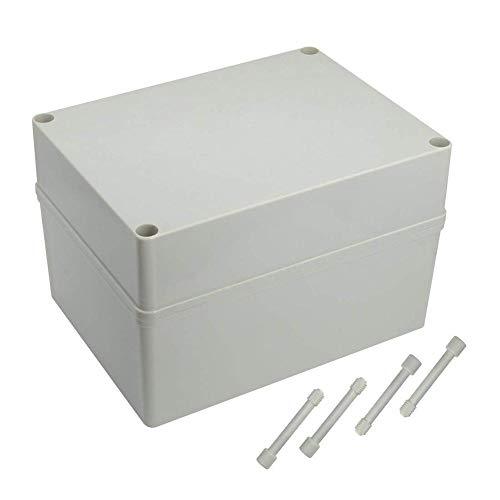mbition Boîte de dérivation IP66 étanche Master Plug extérieur étanche à la poussière Universel électrique Support pour boîtier 20,1 x 15 x 13 cm (200 mm X 150 mm x 130 mm)