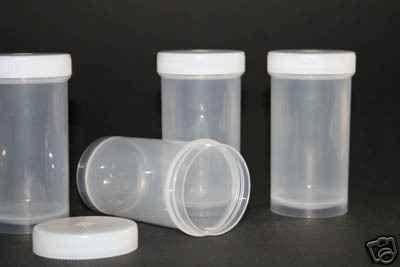 Preisvergleich Produktbild 100ml Leerdosen Schraubdosen Runddosen Plastikdosen Cremedosen Kunststoff Dose leer