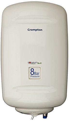 Crompton Solarium DLX SWH825 25-Litre Storage Water Heater (Ivory)