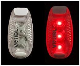 Vizibl Safety clip Light, rosso   In Linea        Nuovo Arrivo  b51022