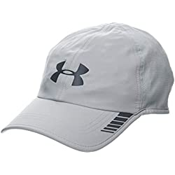 Under Armour Men's Launch AV - Gorra, Hombre, Gris (Mod Gray/Black 011) Talla Única