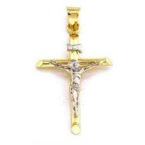walmart-or-14-carats-pendentif-jesus-croix-crucifix-inri-26-mm