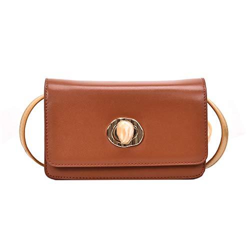 Tasche Damen, Universal Handytasche Mini Handtaschen Umhängetasche Kleine Geldbörse Mini Crossbody Handy Kreditkartenfächer für Frauen ☆Elecenty☆ Turn Lock Brieftasche -