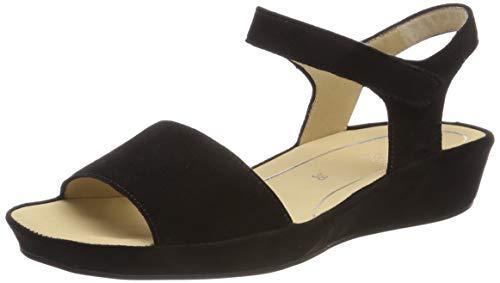 ARA Damen Capri 1228001 Riemchensandalen, Schwarz 13, 38 EU Schuhe Capri