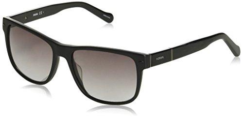 Fossil Unisex-Erwachsene FOS 2050/S Sonnenbrille, Mehrfarbig (MTBLK SHN), 55