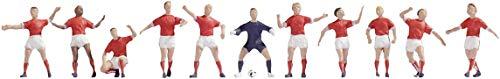 NOCH 15985 - Fußballteam Schweiz, Spur H0, bunt