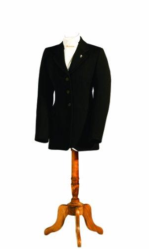 Caldene Herren Wessex Semi Hunt Coat, Herren, Schwarz, 119 cm Hunt Coat