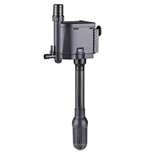 Aquarienfilter Drei in Einer Kleinen Stummen Multifunktionszirkuliert-Wasserpumpe Tauchpumpe mit 1,4 M Draht,1000L/H -