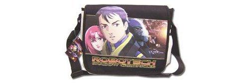 Robotech Cubierta Dvd Messenger Bag