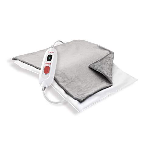 Daga E2P Flexy Heat - Almohadilla eléctrica, 45 x 35 cm, 110 W, 3 temperaturas, funda textil lavable...