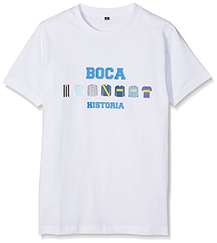 Boca Juniors Hombres Boca Historia Camisas Gris Camiseta