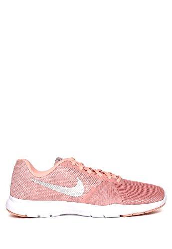Nike Damen WMNS Flex Bijoux Laufschuhe Mehrfarbig (Rust Pink/Metallic 610), 40 EU
