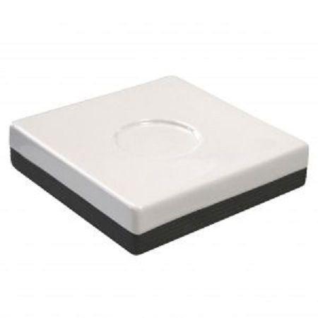 Tatay carré Porte-Savon, ABS/en polystyrène, Cuadrada, 13 x 13 x 13 cm