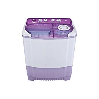 LG P8237R3SA Semi-automatic Top-loading Washing Machine (7.2 Kg, Violet)