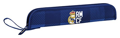 Real Madrid- Portaflautas, Color Azul (SAFTA 811724284)