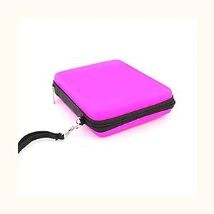 MagiDeal Tasche Mit Umhängeband Carry Case Schutzhülle Tasche Hülle für Nintendo 2Ds Konsole Tragen Pink