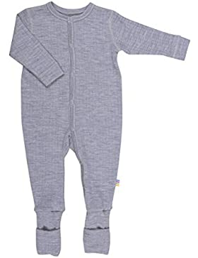 Joha Baby Overall (auch Frühchen), 100% Wolle Natur