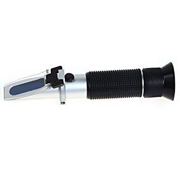 TOOGOO(R) Imker Honig Refraktometer 58-90% Brix Zucker 38-43 Baume 12-27% Wasser Feucht RHB-90ATC
