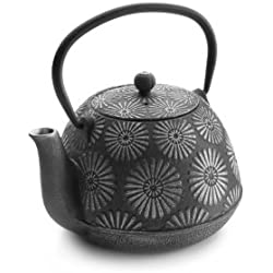 Ibili 621612 - Tetera hierro fundido Bali 1,2 l