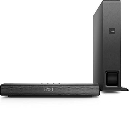 Philips Fidelio B1 Nano Heimkino-Lautsprecher (kabelloser Subwoofer, Bluetooth, HDMI, 320 Watt) schwarz