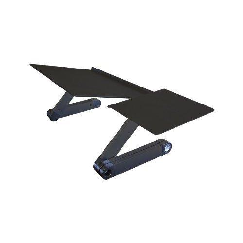 Uncaged Ergonomics Keyboard Tray & Mouse Pad, Adjustable Ergonomic Computer Keyboard Stand, Black (WEKTb) by Uncaged Ergonomics - Stand Adjustable Keyboard Tray
