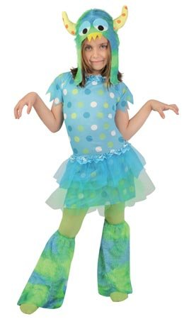 Disfraz de monstruita para niña - 7-9 años