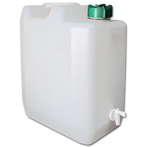 Wasserkanister mit Wasserhahn - Wasserkanister Camping - faltbarer Wasserkanister - Wasserbehälter faltbar - Wasserbehälter mit Modellauswahl (Wasserkanister 35L)