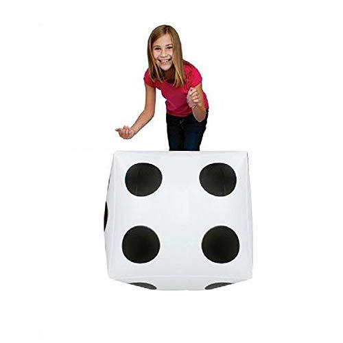 jieGREAT Räumungsverkauf  , 28cm großer aufblasbarer Würfel-Punkt-diagonaler riesiger Toy Party Air